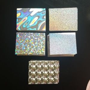 Other - 50 Holographic Blank Cards / Thank You Cards.